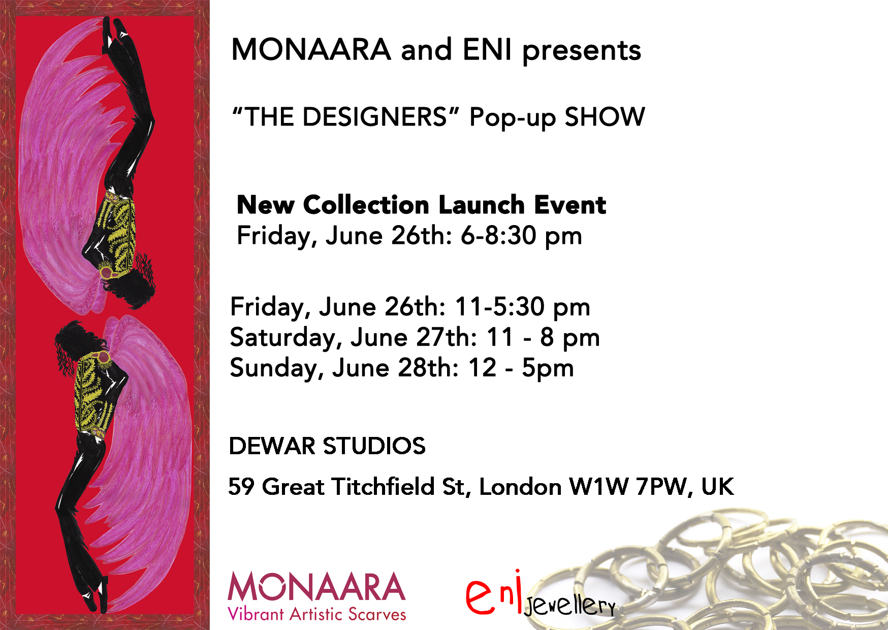 Designer Fashion Pop Up Show