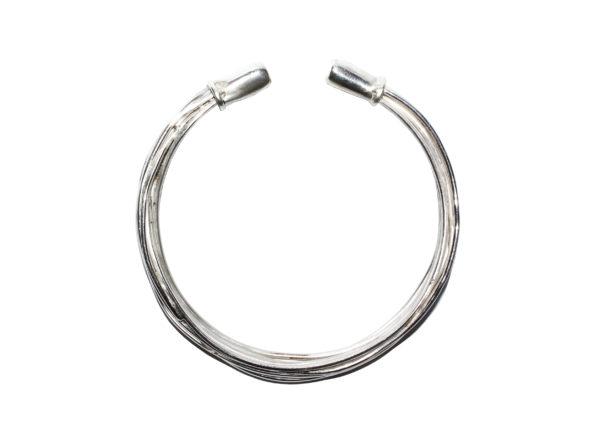 Wired bracelet in Earthy Style