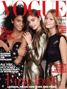Eni Jewellery in BRITISH VOGUE February issue