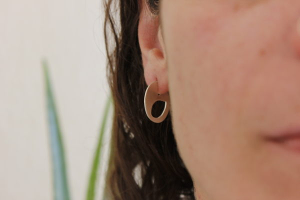 Safety Pin Earrings Small