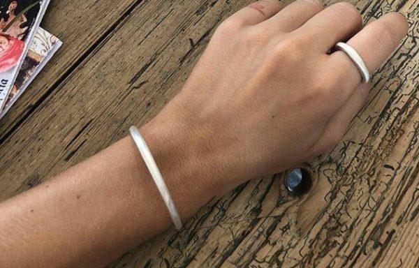 Chenier Band Bracelet