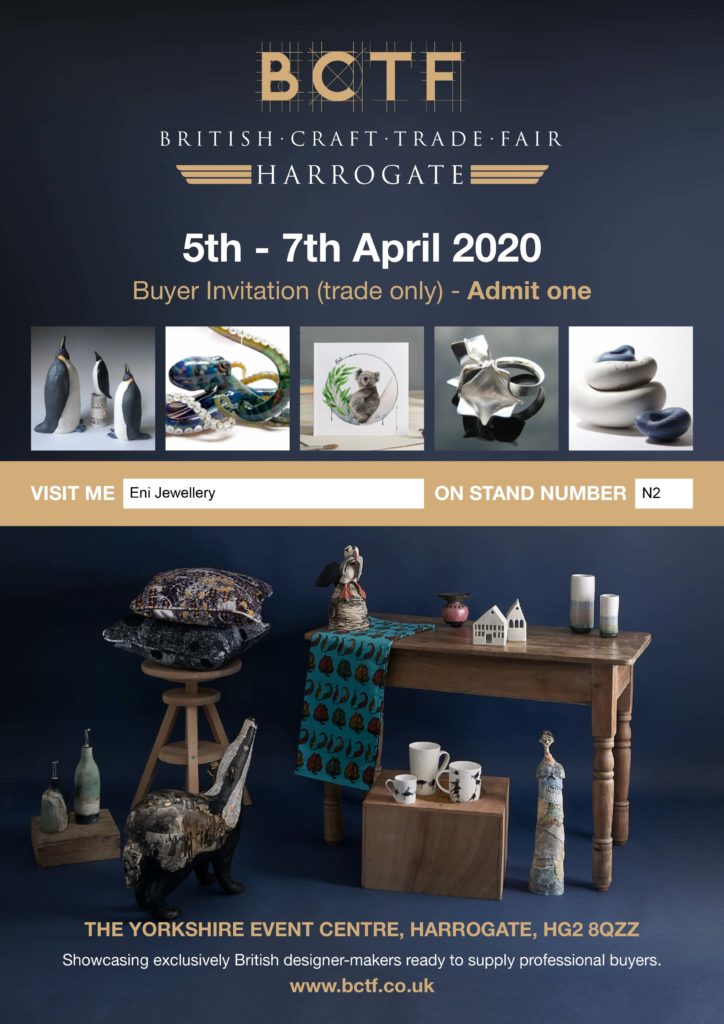 Greek designer to grow her business at trade exhibition for exclusively British made products