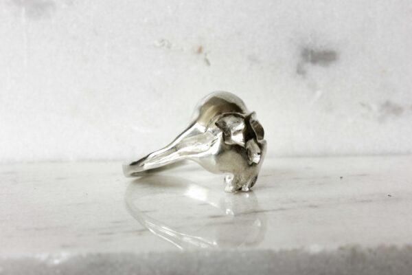unisex skull ring