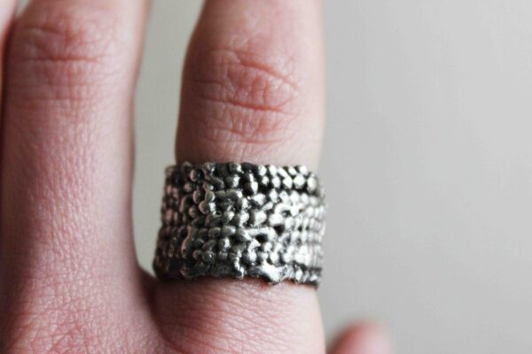 bubbles chunky ring